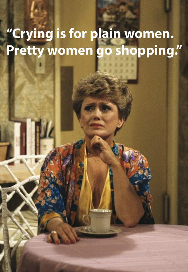 Very Special Advice From Blanche Devereaux The Very Special Blog