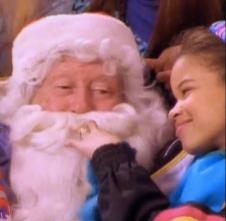 jessie creeps on santa