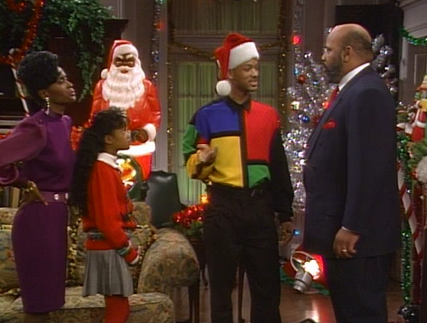 Fresh prince of bel air christmas episodes